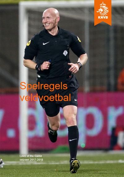 Spelregels veldvoetbal KNVB 2017 2018
